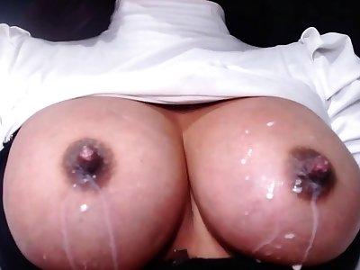 I filmed my tie the knot squeezing will not hear of cobwebby tits