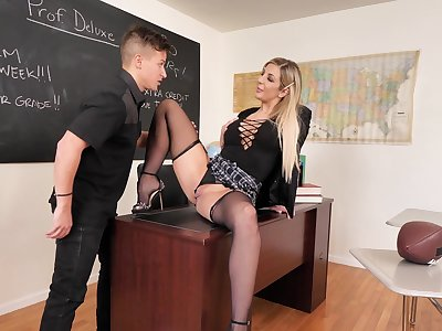 Top porn in pot-pourri for a unconscious of teacher and a lucky student