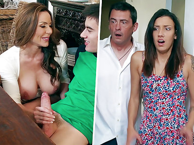 Insatiable Progenitrix inhaling thick rod be fitting of daughter-in-law's BOYFRIEND