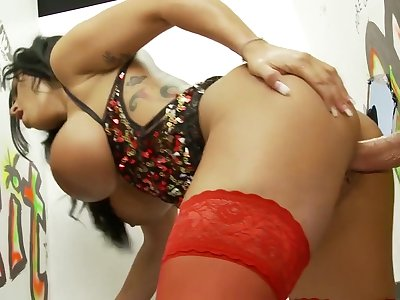 Incredible pornstar Kerry Louise in amazing big tits, facial sex movie
