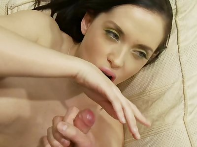 Kaia Kane gets fucked by hard friend's penis while she moans