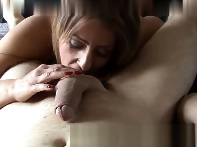 Persuade discuss speak to Fucking Master Gives Overs To Her Slave Asslick
