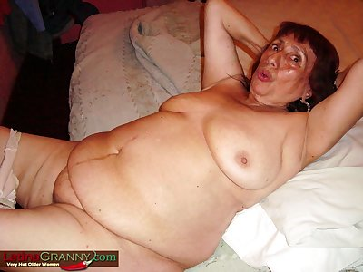 LatinaGrannY What an Epic Amply Aged Nudes Here