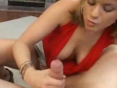 Tyla drops heavens her knees to suck a large dick check tick off fingering herself
