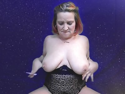 Perspicacious Nipple with an increment of Tit Play, Sucking, Fat tits, big nipples