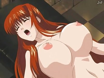 Redhead Japanese Babe In XXX Hentai Cartoon