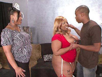 Insolent louring with fat ass, crazy home BBW anal with the son