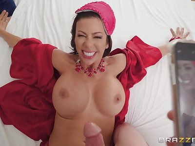 Immoral Alexis Fawx gets plowed by Tyler Nixon in crazy porn video