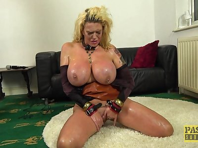 Big bore mature plays submissive all round real torture porn  XXX maledom